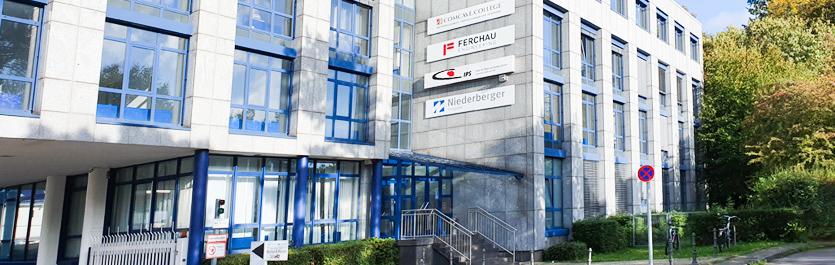 Gebäude vom COMCAVE.COLLEGE Standort Aachen