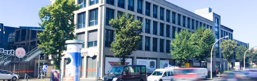 Gebäude vom COMCAVE.COLLEGE Standort Bonn