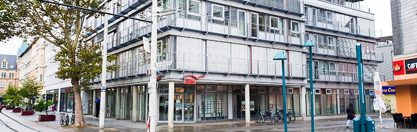 Gebäude vom COMCAVE.COLLEGE Standort Braunschweig