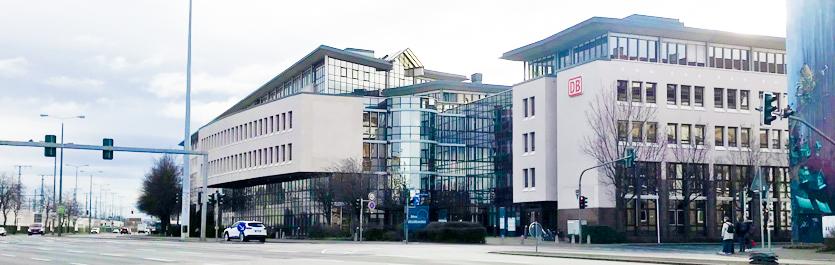 Gebäude vom COMCAVE.COLLEGE Standort Erfurt