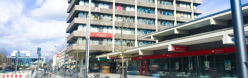 Gebäude vom COMCAVE.COLLEGE Standort Gelsenkirchen
