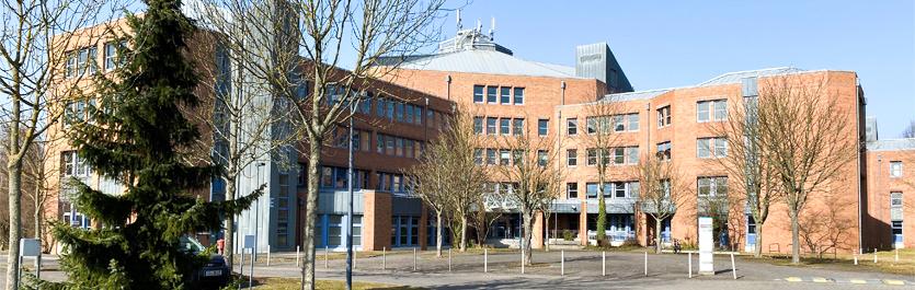 Gebäude vom COMCAVE.COLLEGE Standort Gießen