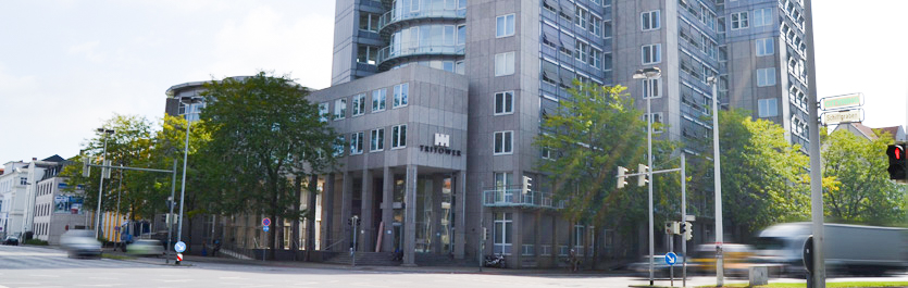 Gebäude vom COMCAVE.COLLEGE Standort Hannover