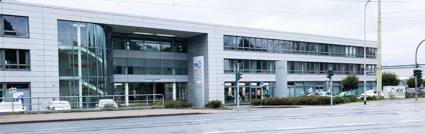 Gebäude vom COMCAVE.COLLEGE Standort Mülheim an der Ruhr