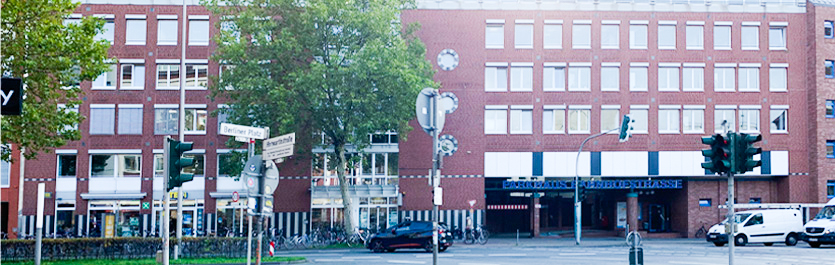 Gebäude vom COMCAVE.COLLEGE Standort Münster