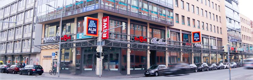 Gebäude vom COMCAVE.COLLEGE Standort Nürnberg
