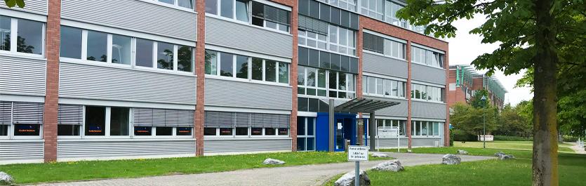 Gebäude vom COMCAVE.COLLEGE Standort Oberhausen