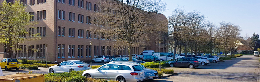 Gebäude vom COMCAVE.COLLEGE Standort Osnabrück