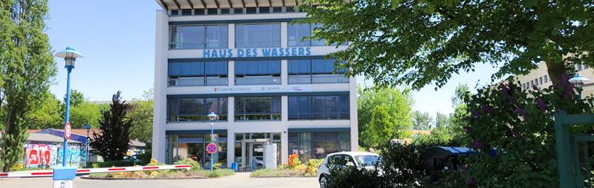 Gebäude vom COMCAVE.COLLEGE Standort Potsdam