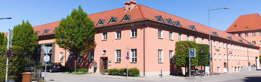 Gebäude vom COMCAVE.COLLEGE Standort Regensburg