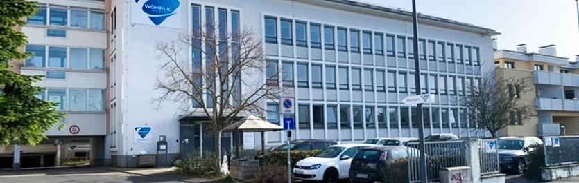 Gebäude vom COMCAVE.COLLEGE Standort Würzburg