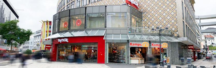 Gebäude vom COMCAVE.COLLEGE Standort Wuppertal