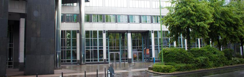 Gebäude vom COMCAVE.COLLEGE Standort Essen