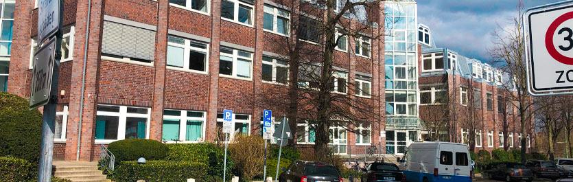 Gebäude vom COMCAVE.COLLEGE Standort Lübeck