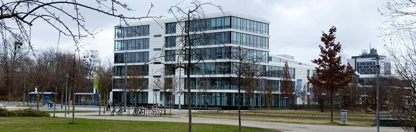 Gebäude vom COMCAVE.COLLEGE Standort München