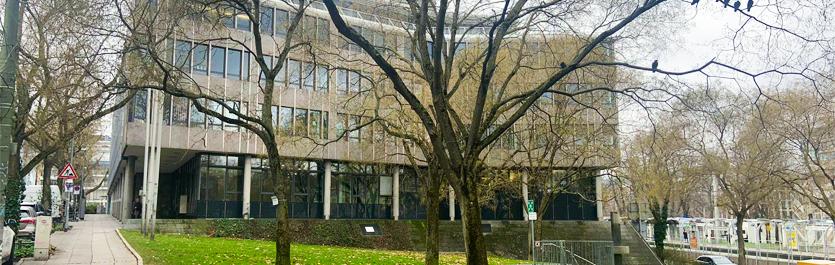 Gebäude vom COMCAVE.COLLEGE Standort Stuttgart