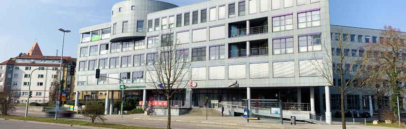 Gebäude vom COMCAVE.COLLEGE Standort Ulm
